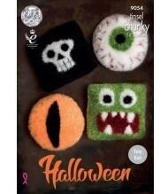 Halloween Tinsel Chunky Pattern - 9054