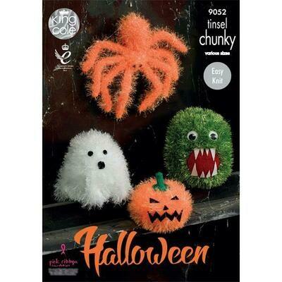 Halloween Tinsel Chunky Pattern - 9052