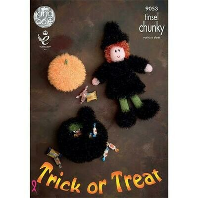 Trick or Treat Tinsel Chunky Pattern - 9053