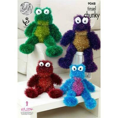 Frog Tinsel Chunky Pattern - 9048