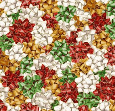 Christmas Bows - Gold