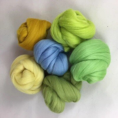 The Wolds Felting Wool Bundle