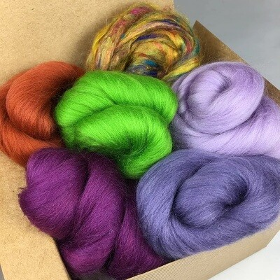 The Moors Felting Wool Bundle
