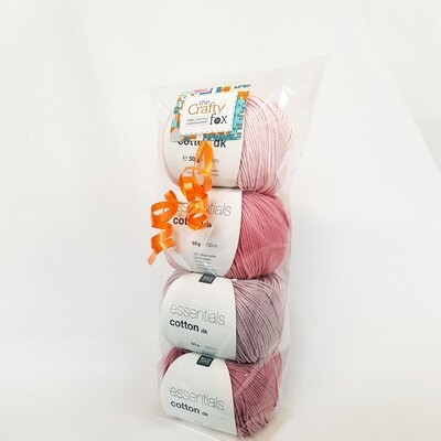 Pink Cotton DK Gift Pack