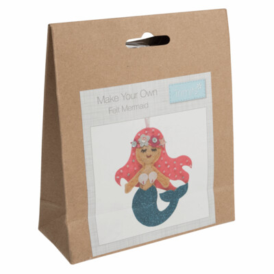 Make Your Own Felt Mermaid