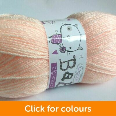 Big Value Baby 4ply - click for colour options