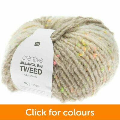 Melange Big Tweed - Super Chunky