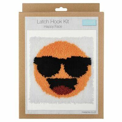 Latch Hook Smiley Face Kit