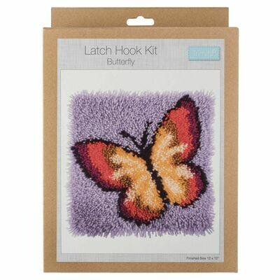 Latch Hook Butterfly Kit