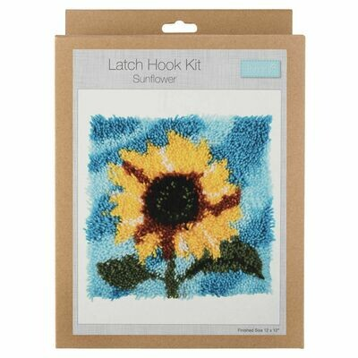 Latch Hook Sunflower Kit