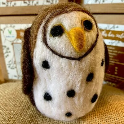 Spotty Owl Felting Kit