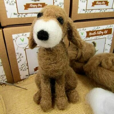 Floppy Dog Felting Kit