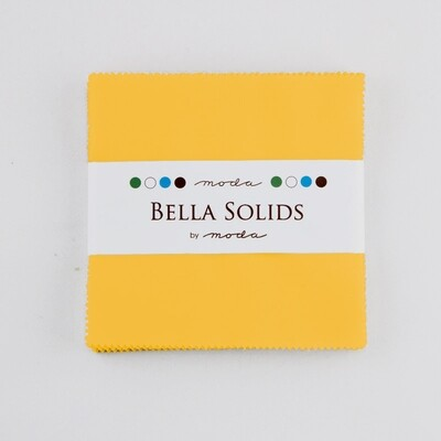 Solids Charm Pack - Yellow