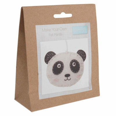 Make Your Own Felt Panda