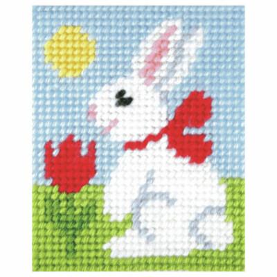 Needlepoint Kit: Easter Bunny