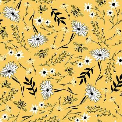 Honey Bee Floral