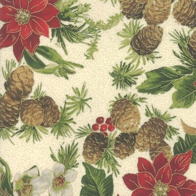 Poinsettias - Cream