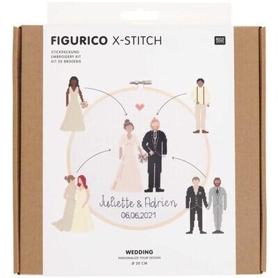 Rico Wedding Cross Stitch Kit