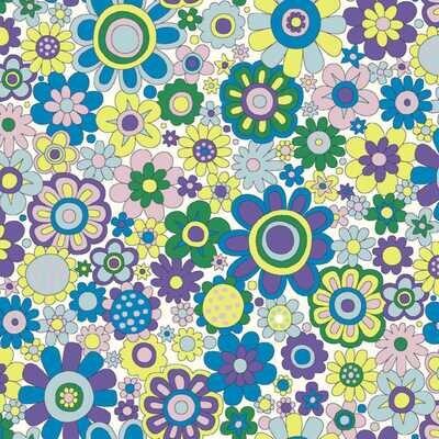 Paradise Petals - Purple