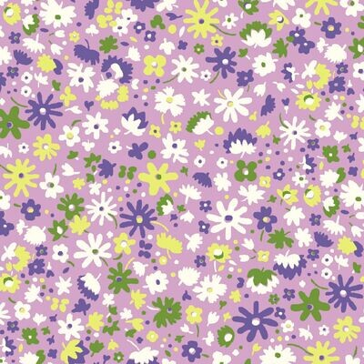 Bloomsbury Blossom - Purple