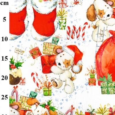 Christmas Puppy & Stocking