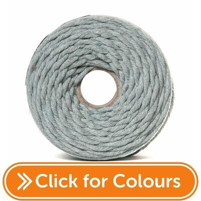 Dyed Macrame Cord 4mm
