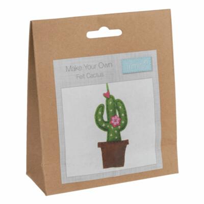 Make Your Own Felt Cactus