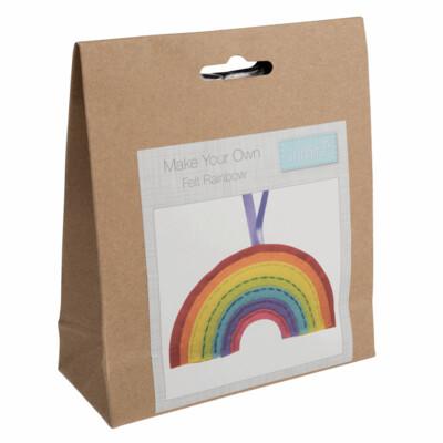 Make Your Own Felt Rainbow