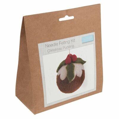 Needle Felt Kit - Christmas Pudding