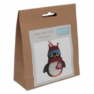 Make Your Own Felt Penguin