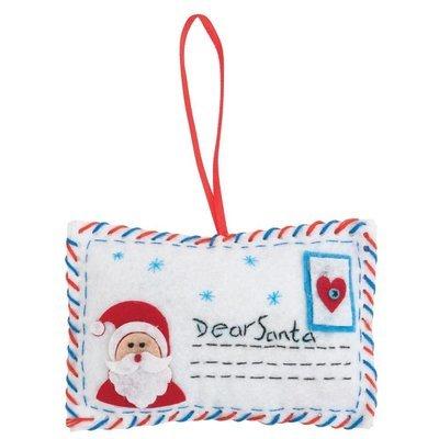 Make Your Own Felt Letter To Santa