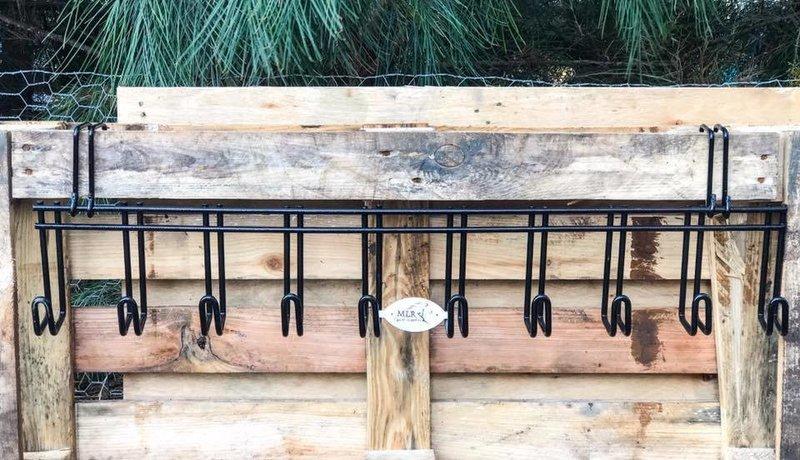 Heavy Duty 10 Hook Bridle Rack