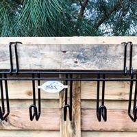 Heavy Duty 5 Hook Bridle Rack