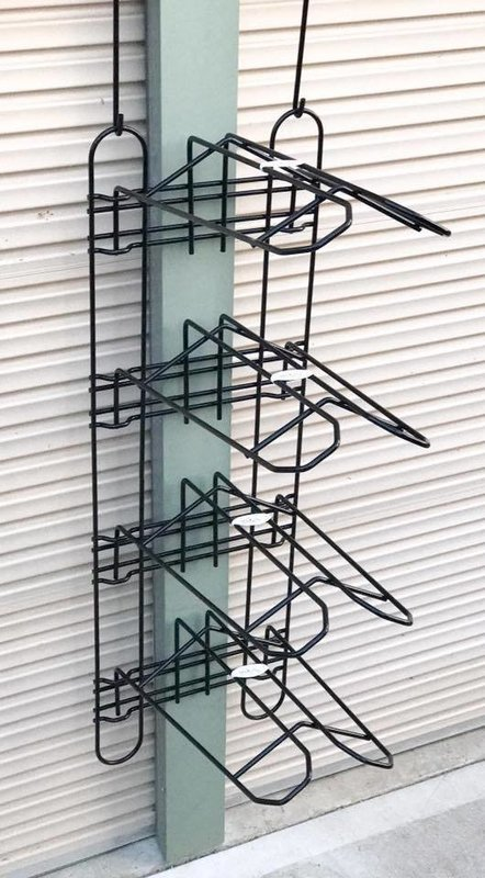 Large Main Frame with 4 Saddle Rack Tiers