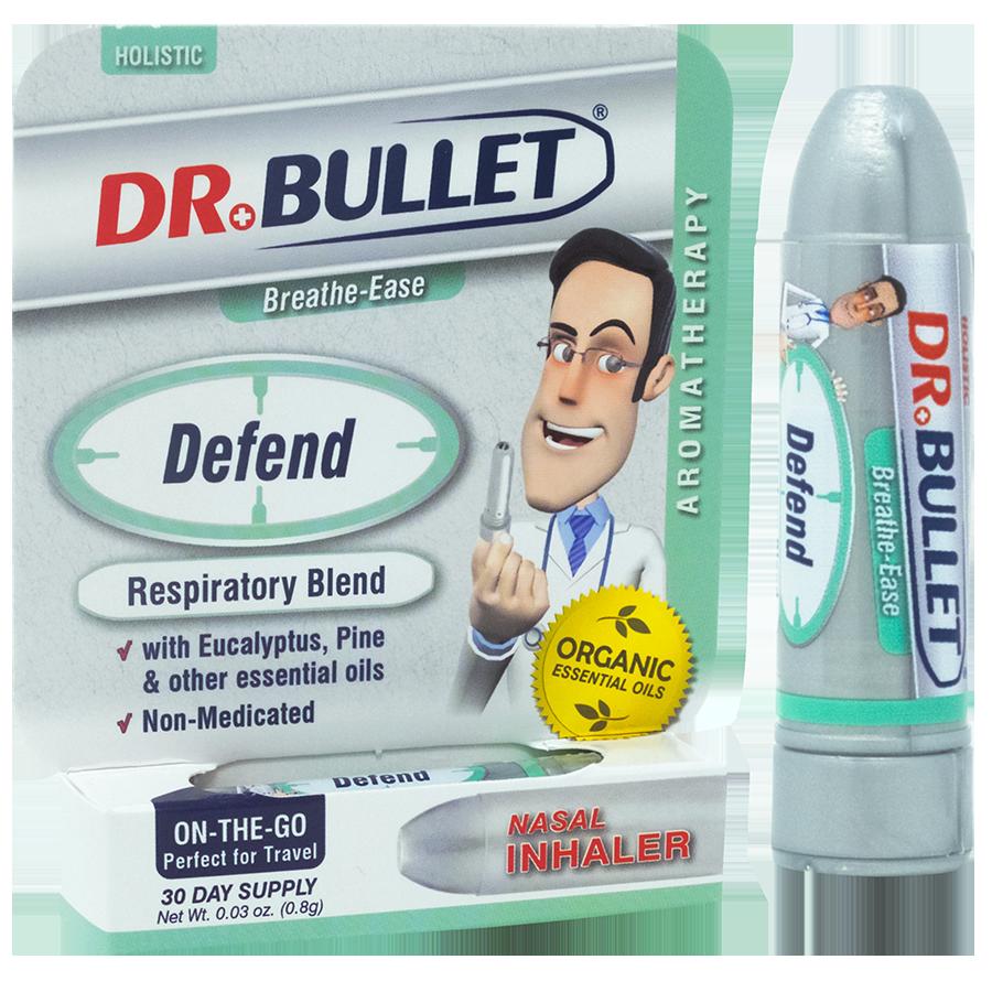 Dr.Bullet™ DEFEND Respiratory Blend | Nasal Inhaler
