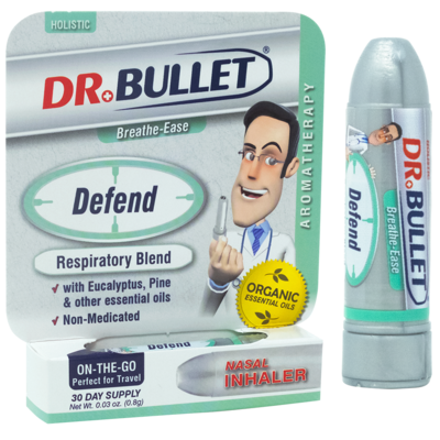 Dr.Bullet™ DEFEND Respiratory Blend | Nasal Inhaler