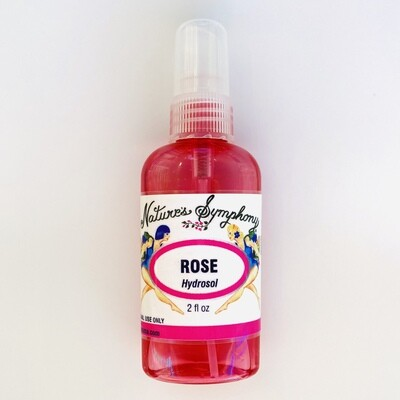 Rose, Hydrosol | 2 fl. oz. 59ml