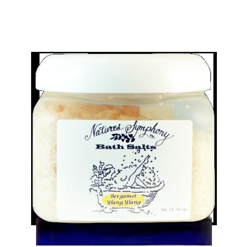 Bergamot & Ylang Ylang, Himalayan Bath Salts (16 baths) - 1lb (453g)