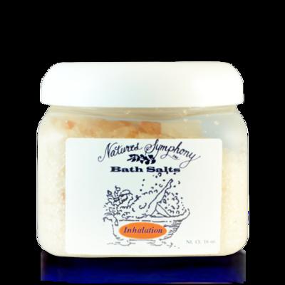 Inhalation, Himalayan Bath Salts (16 baths) - 1lb (453g)