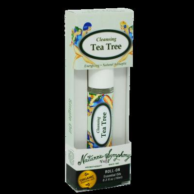 Cleansing Tea Tree, Roller Ball, Blend Organic/Wildcraft - 10ml