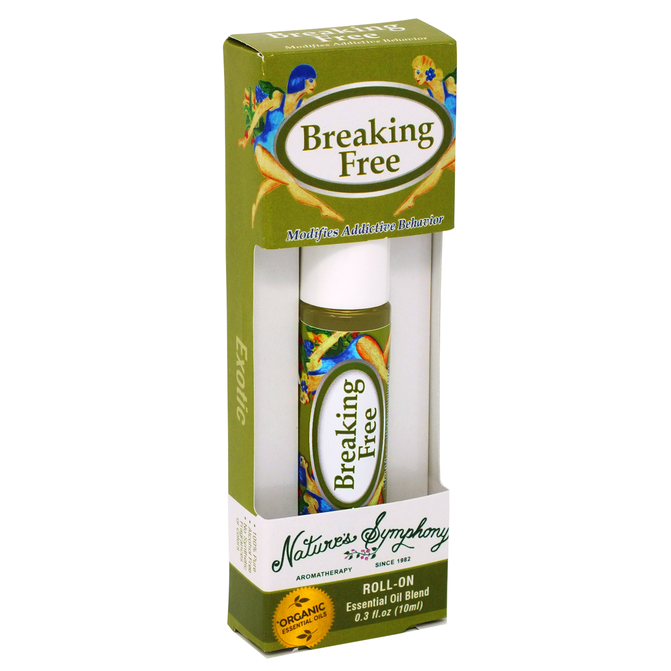Breaking Free, Roller Ball, Exotic Organic/Wildcrafted Fragrance - 10ml