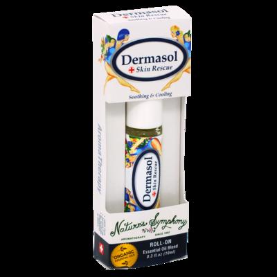 Dermasol, Roller Ball, Blend Organic/Wildcraft - 10ml