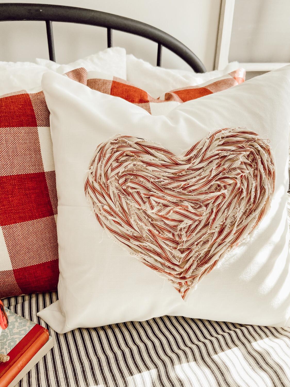 Heart Pillow Cover
