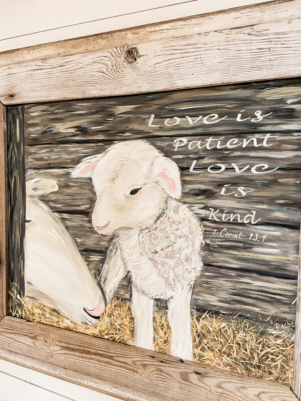 Mother's Love Original Painting Print