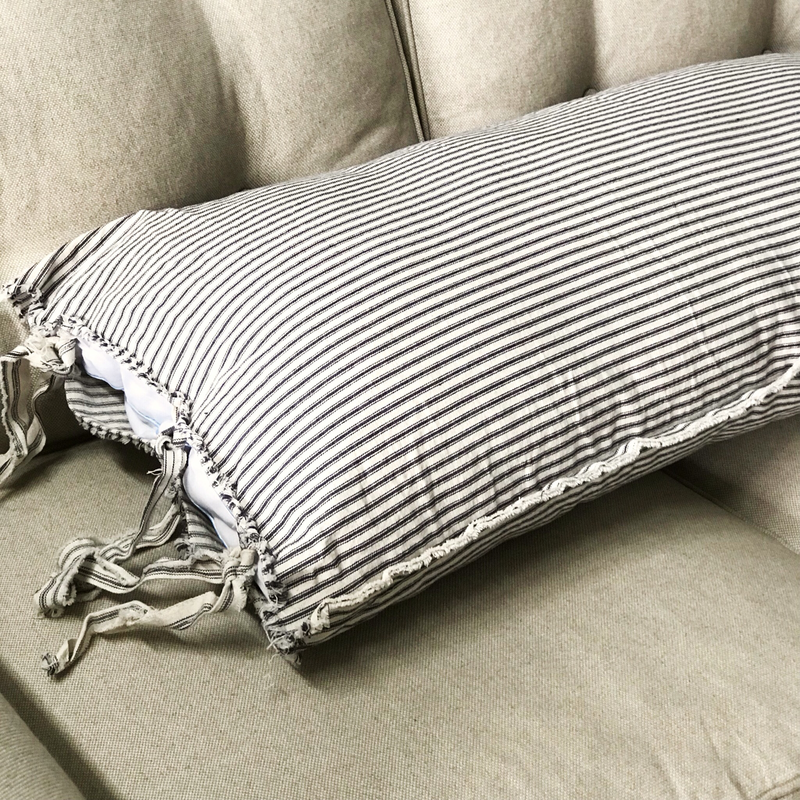 Distressed Ticking  Pillow Sham