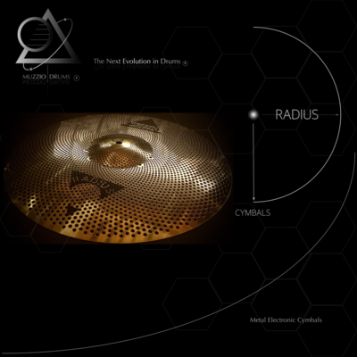 Radius Passive Reduced Volume Cymbal Pack 1