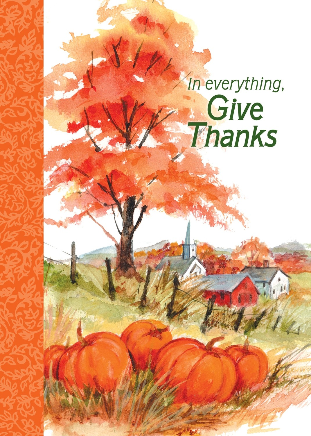 FRS 589 / 7955  Thanksgiving Card