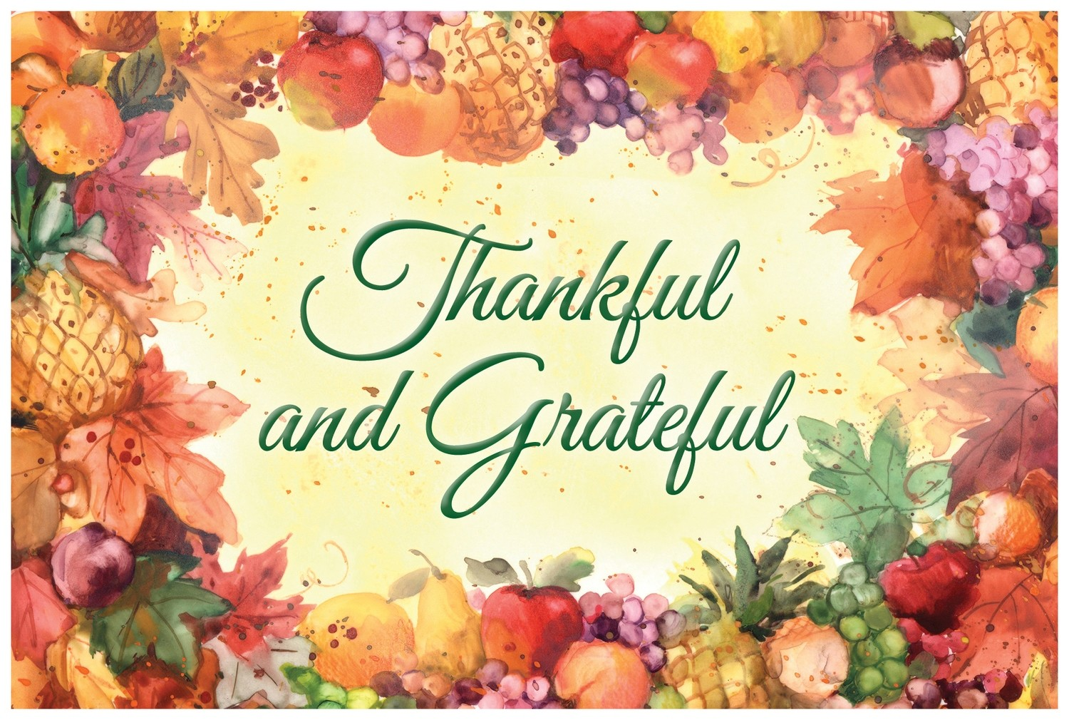 FRS 956 / 7973 Thanksgiving Card