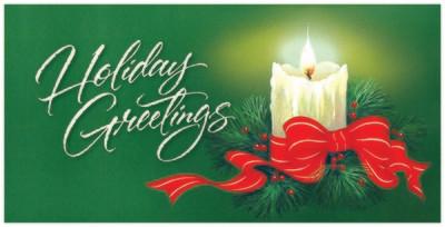 FRS5734   Money Holder / Christmas