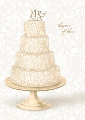 ASD040   Wedding Card